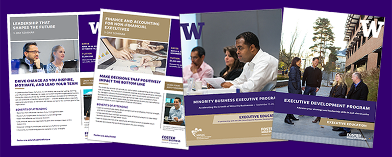 Executive Education brochures