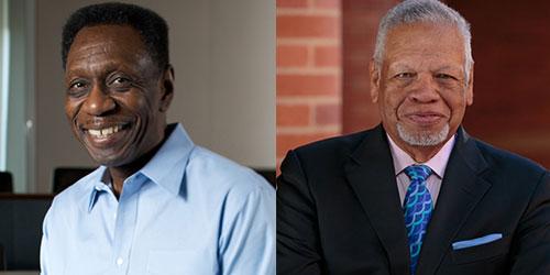 Bill Bradford (left) and Al Osborne (right)